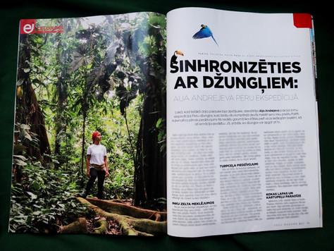 """Intervija ar Aiju Andrejevu: """"Sinhronizēties ar džungļiem"""""""