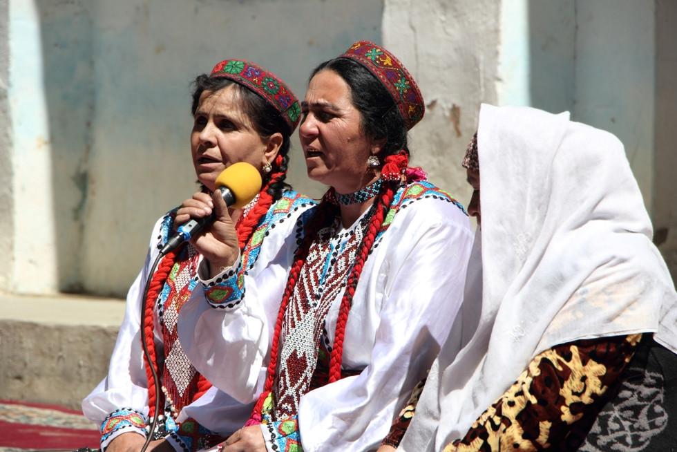 2017. gada 18. augusts. Tadžikistāna, Iškašima. Uz festivālu!