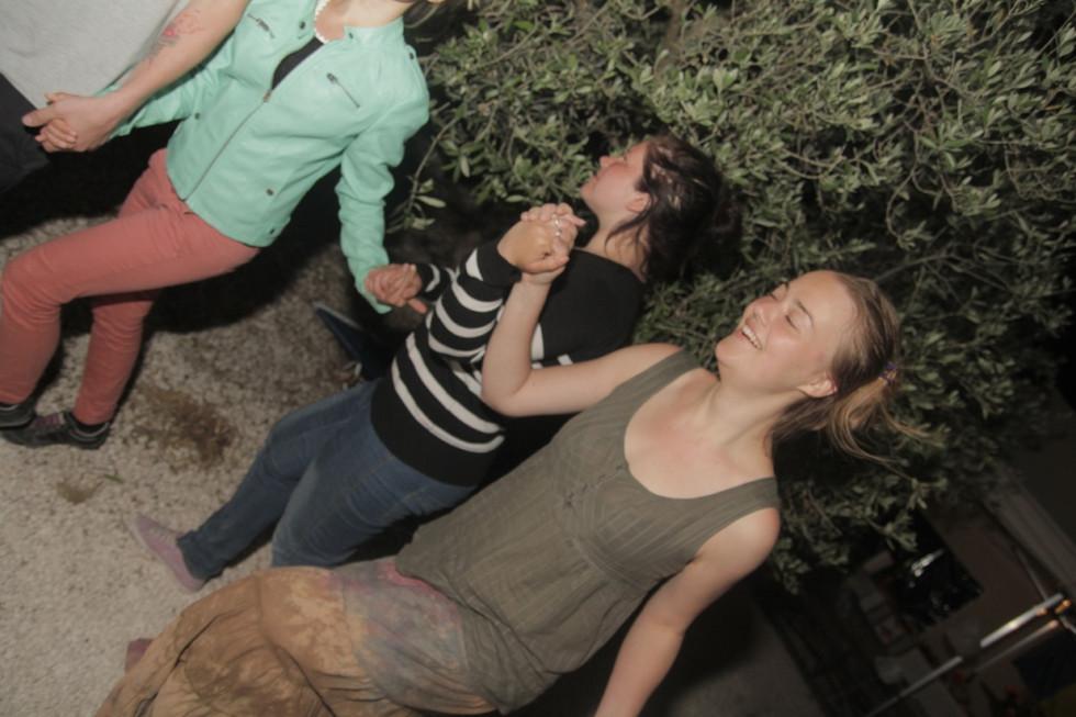 2014. gada 12. maijs. Jauniešu apmaiņa Itālijā. 7. diena. Rumāņu ugunīgās dejas