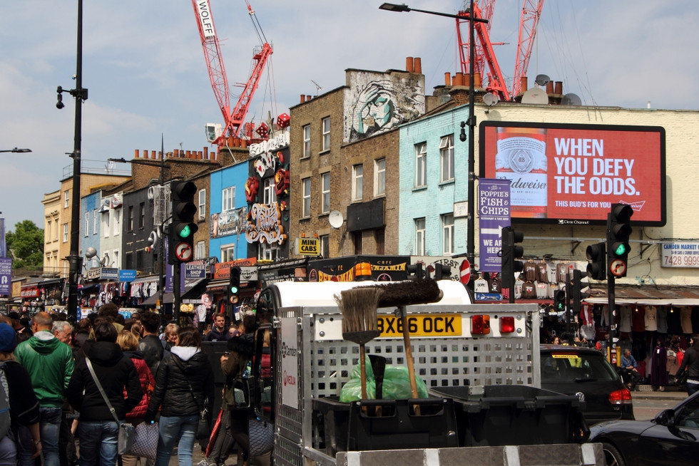2017. gada 7. maijs. Londona. Šerloks Holmss un Kamdenas kedas