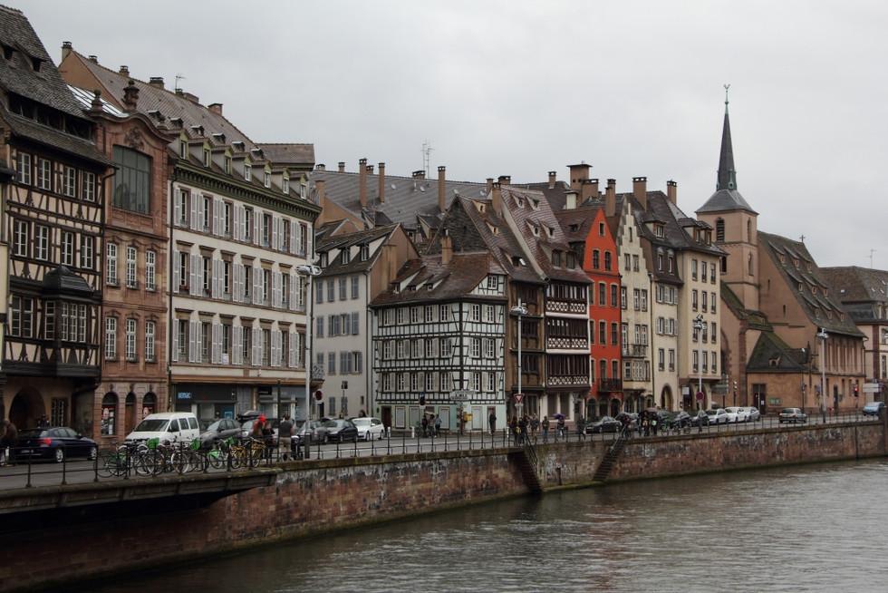 2017. gada 15. aprīlis. Mājup no GLEN semināra Francijā. Stopēšana un piedzīvojumi Strasbūrā