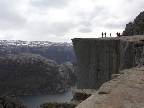 2016. gada 29. aprīlis. Norvēģija. 1. diena. Kalnu vilinājums