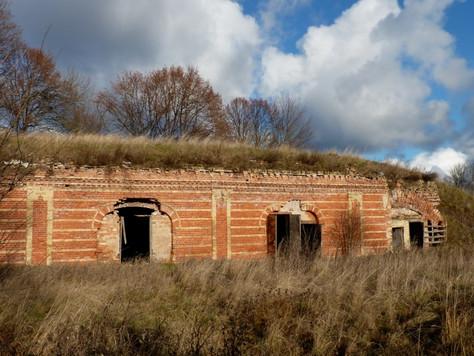 2015. gada 21. novembris. Daugavgrīvas cietoksnis un ložņāšana cauri vēsturei