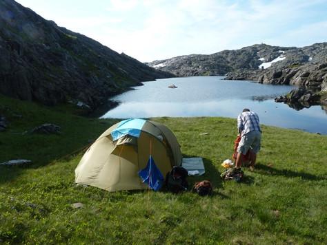 2014. gada 22. jūlijs. Norvēģija. 2. diena. No ezera līdz ezeram