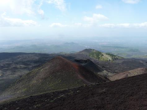2014. gada 14. maijs. Jauniešu apmaiņa Itālijā. 9. diena. Etnas vulkāna krāšņums