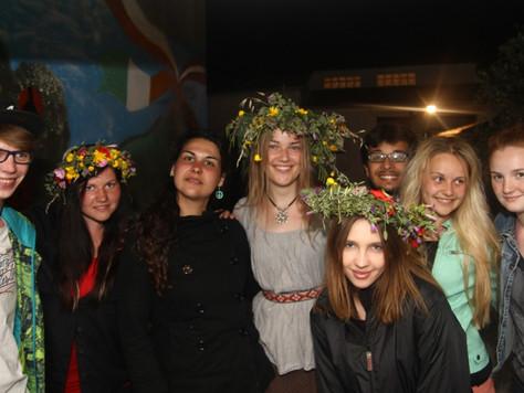 2014. gada 11. maijs. Jauniešu apmaiņa Itālijā. 6. diena. Rīta piedzīvojums, gekoni par mājdzīvnieki