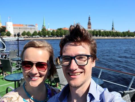 2021. gada 25. jūlijs. Ar kuģīti maršrutā Rīgas centrs - Mežaparks - Rīgas centrs