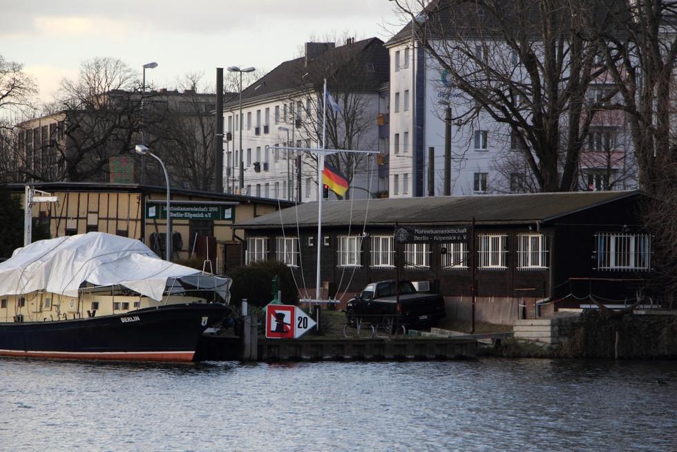 2018. gada 1. februāris. Vācija, Berlīne. Mazpilsētas sajūta lielpilsētā