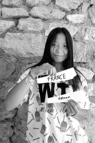 Lina, Vietnam & France