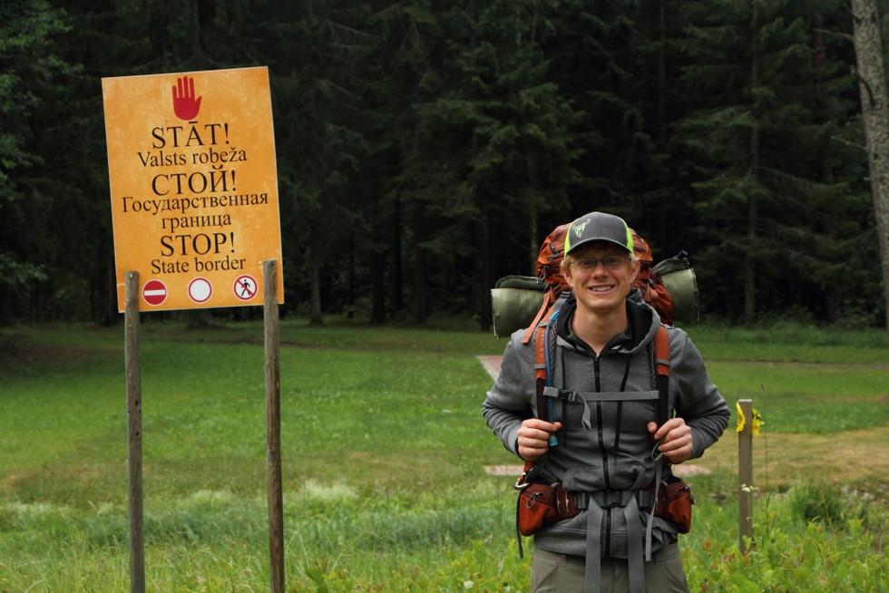 2018. gada 25. jūnijs. Ēriks Latvijā. No Meikšāniem līdz Ezerniekiem. LV-RUS robežas signalizācijas