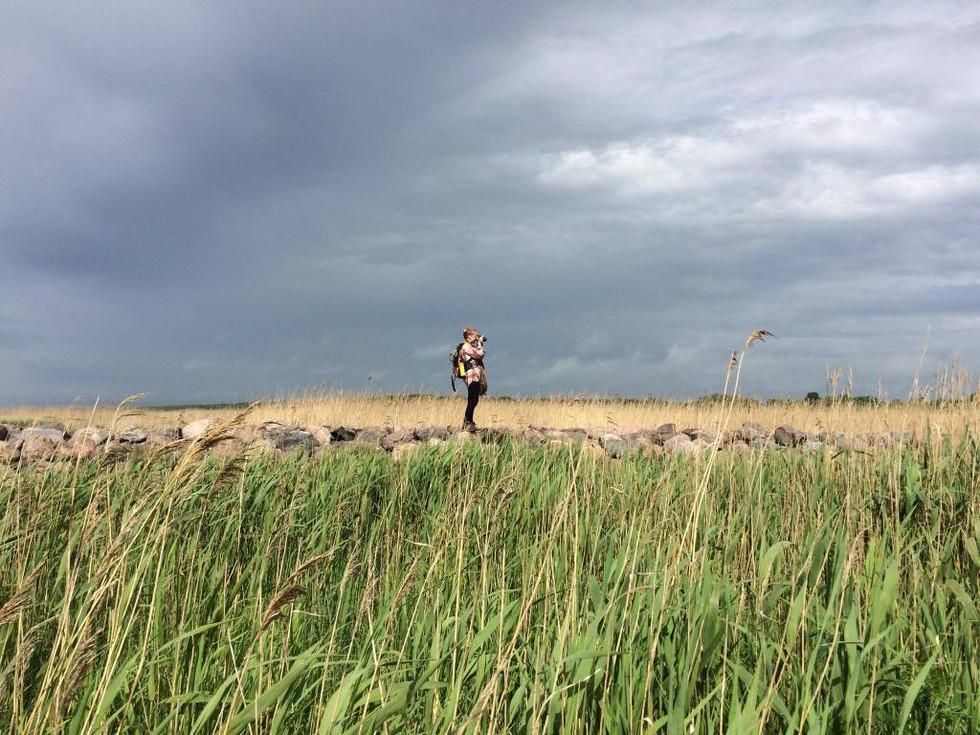 """2017. gada 11. jūnijs.  15 km pārgājiens """"gar jūru"""". Salacgrīva - Ainaži"""