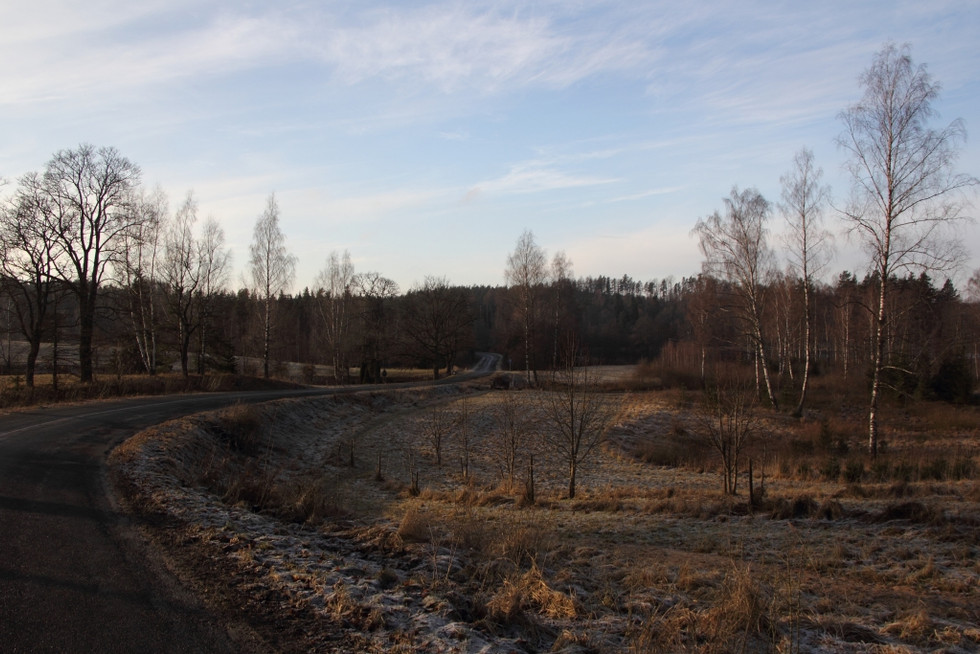 2017. gada 31. decembris - 2018. gada 1. janvāris. Latvija. Iesoļot Jaunajā gadā. 23 km Cēsu pievārt
