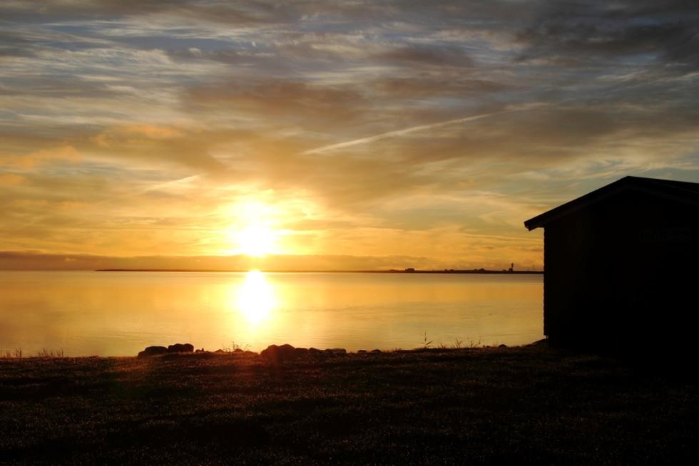 2016. gada 6. septembris. Mazs izbrauciens Latvija - Igaunija. 3. diena. Kihnu salas kadiķu un jūras