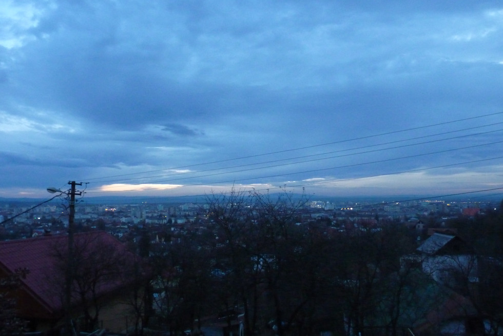 2013. gada 5. novembris. Jauniešu apmaiņa Rumānijā. 10. diena. Atvadas un naksnīgā Baia Mare