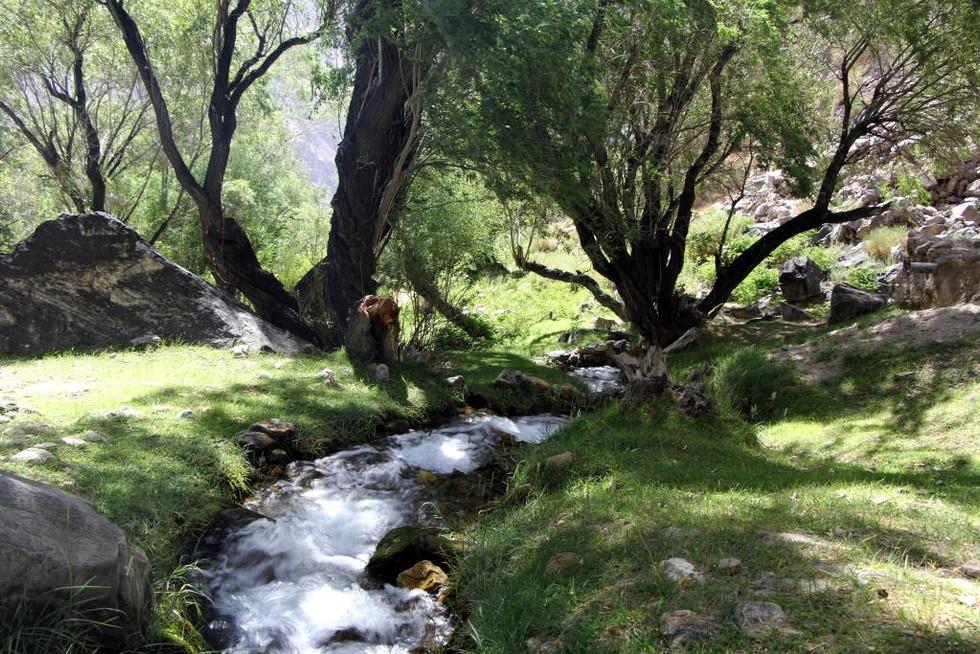 2017. gada 8. augusts. Tadžikistāna, Avdža. Mazliet brīvības un mēness lēkts