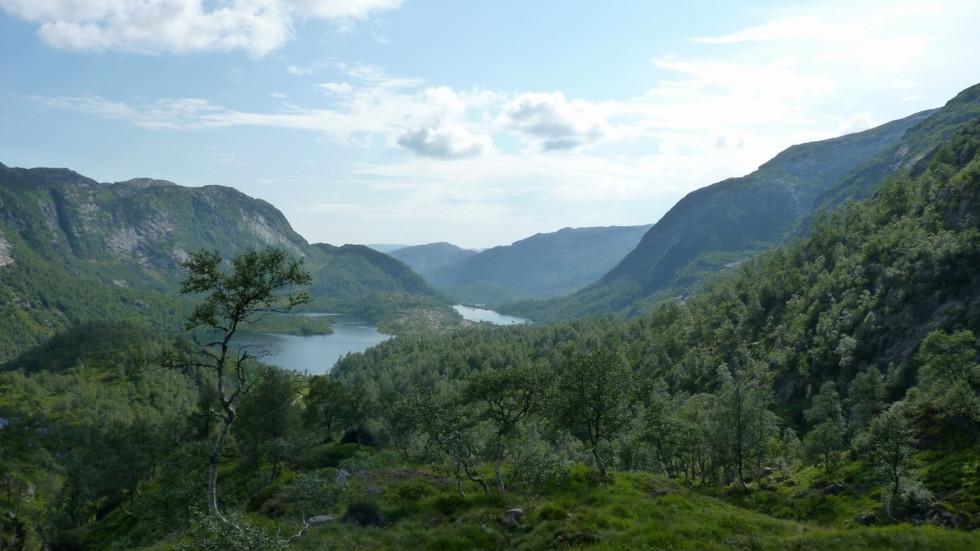 2014. gada 25. jūlijs. Norvēģija. 5. diena. Atgriešanās dinozauru laikmetā