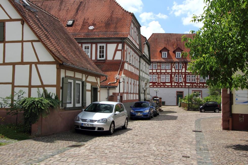 2017. gada 3. jūlijs. GLEN seminārs Vācijā. Erbach - pasaku pilsētiņa
