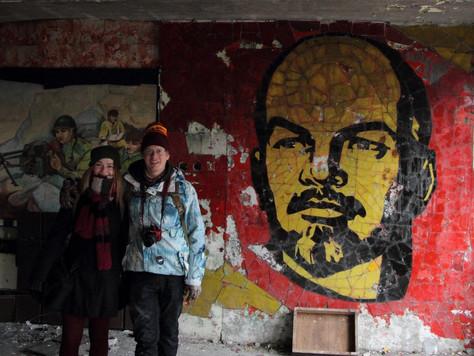 """2016. gada 16. decembris. Ēriks Latvijā. Skrundas PSRS spoku pilsētiņa un """"plot twist"""""""