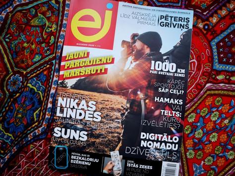 """Raksts """"1000 km pāri Svētajai zemei: Izraēlas Nacionālā taka"""""""