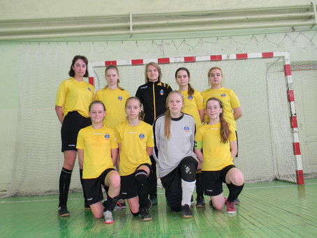 Завершили своё выступление в чемпионате Московской области девушки 2004-05 г.р.