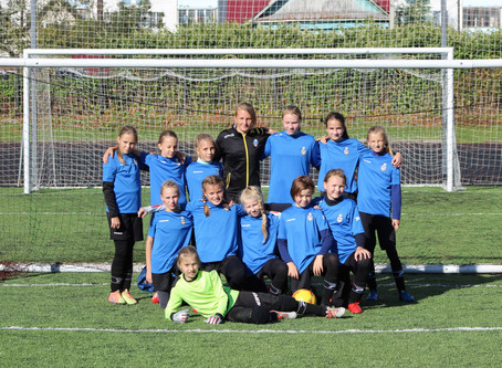 Матчи финального тура первенства Московской области по футболу среди девочек 2008 г.р.