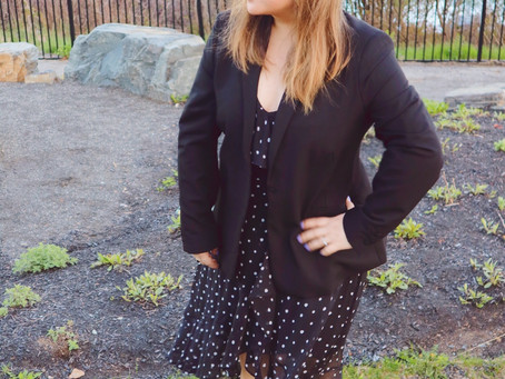Polka Dots: when you don't want a bright floral dress for a wedding...