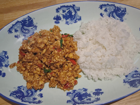 "Thai ""FAKE-away"" - Pad Gra Prow, Thai Basil Chicken"
