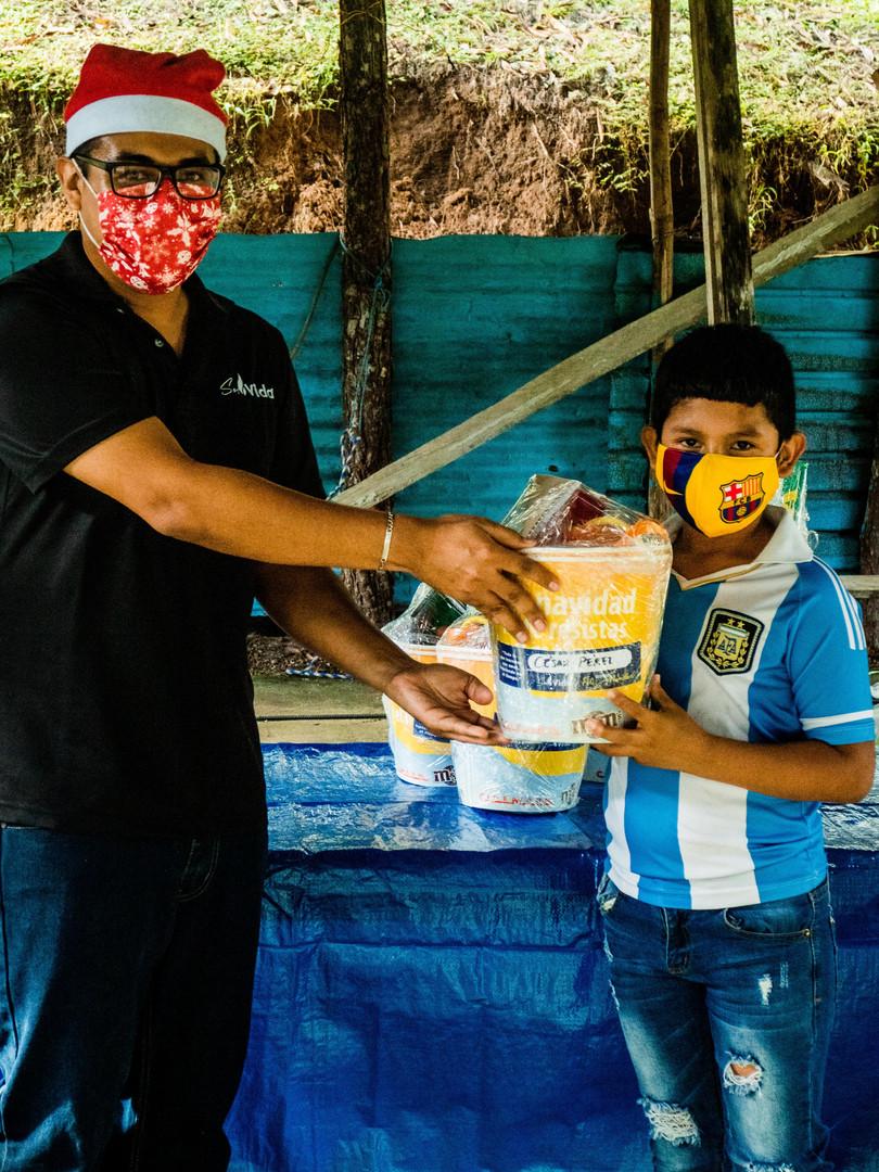 GIRA EN PUERTO ARMUELLES SEMILLAS Y SOS