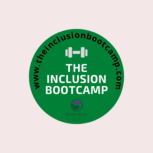 The Inclusion Bootcamp Course - October 2020 Cohort
