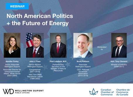 Upcoming Webinar: North American Politics and the Future of Energy
