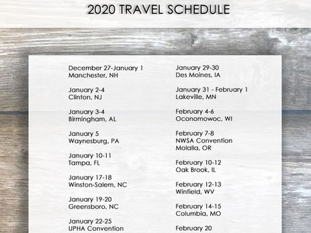 Becker Brothers releases 2020 Winter Travel Schedule