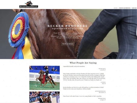 Becker Brothers unveils newly revamped website