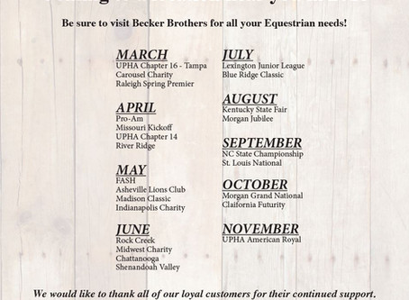 Becker Brothers wins People's Choice Award, releases 2018 show schedule
