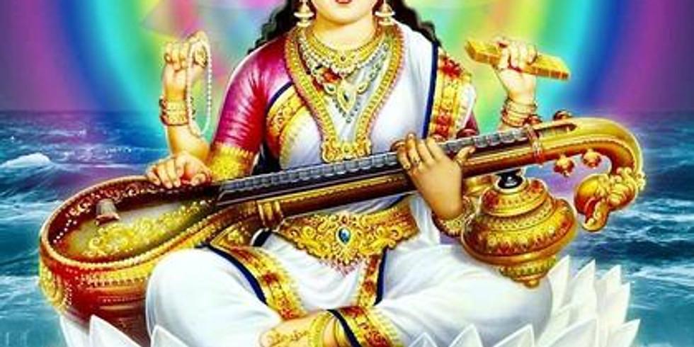Goddess Series: Saraswati