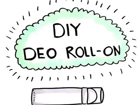 Aus der Serie... Alternative für: Deo Roll-On selbermachen