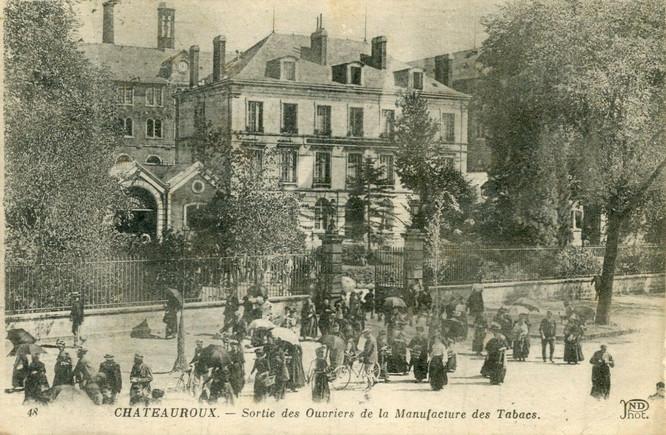 Manufacture des Tabacs - Seita Châteauroux (1861-1998)