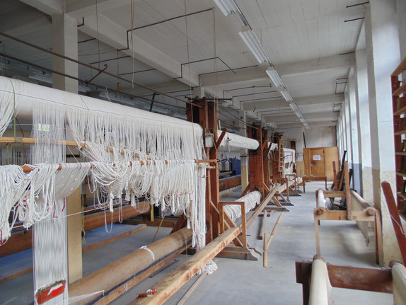 Atelier de haute lisse
