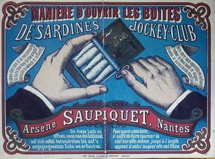 Affiche publicitaire Saupiquet