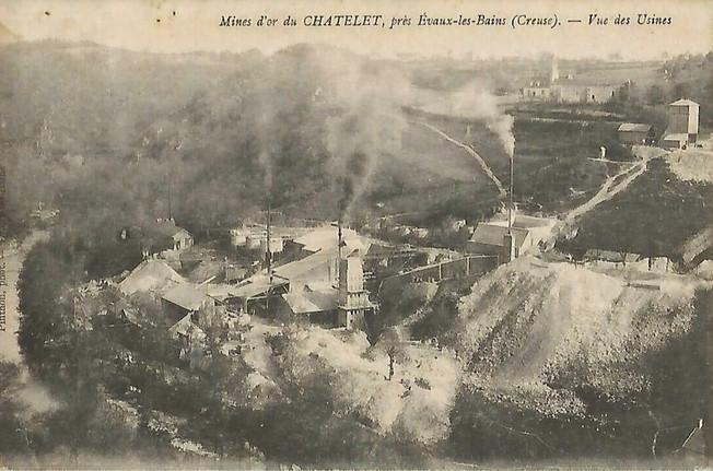 Budelière: dépollution des anciennes mines d'or