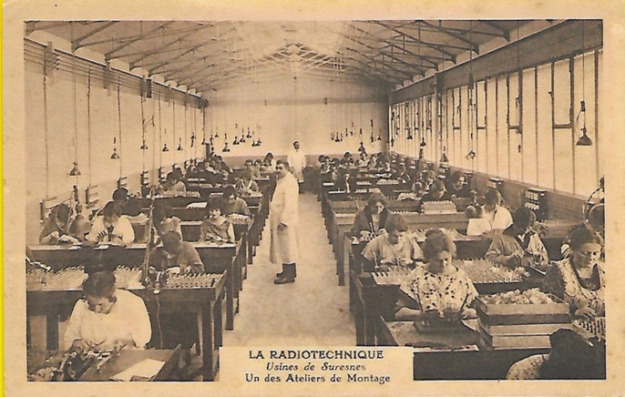 La Radiotechnique Suresnes (1921-1969)