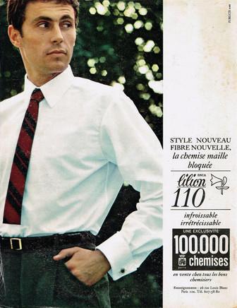 Publicité 100 000 Chemises