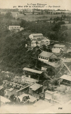 Mines du Châtelet Budelière (1886-1955)
