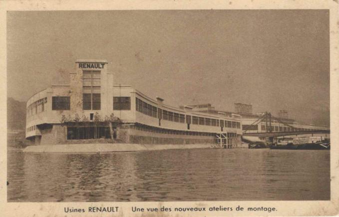 Renault  Boulogne-Billancourt (1929-1992)