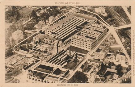 """La Chocolaterie Poulain à Blois se trouve dans le département de Loir-et-Cher en région Centre-Val-de-Loire.  Créée en 1862, par Auguste Poulain, l'usine Poulain à Blois fabrique des chocolats (tablettes et poudres).  En 1872, la construction d'un château """"La Villette"""" au centre du site industriel permet de loger la famille d'Auguste Poulain et en 1884 le complexe s'agrandit avec une nouvelle usine nommée """"Beauséjour""""."""
