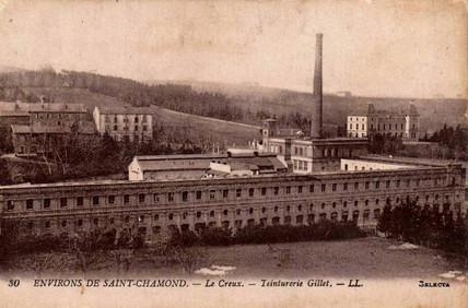 Histoire de l'usine  Gillet Saint-Chamond Patrimoine & Tourisme