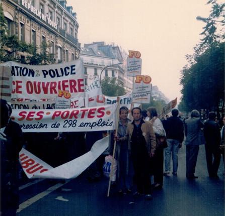 Manifestation Paris 1988