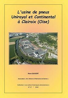 L'usine de pneus Uniroyal et Continental à Clairoix