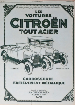 Citroën Javel (1933-1973)