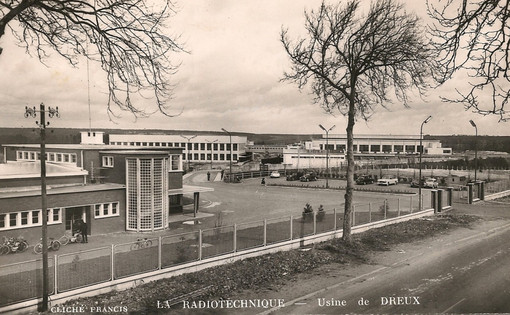 La Radiotechnique Philips Dreux (1956-2009)