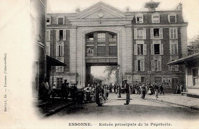Papeterie Darblay Corbeil-Essonnes (1867-1996)